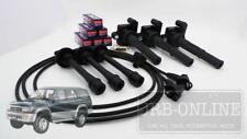 Suits TOYOTA Hilux VZN167 172 5VZ V6 3.4L 2002-2005 PLUGS LEADS & COIL PACK KIT