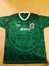 Jersey Retro Mediana Mexico Futbol Soccer FIFA Confederaciones Mundial Rusia