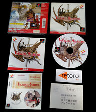 VANDAL HEARTS playstation PSX Play Station PS1 JAP Konami