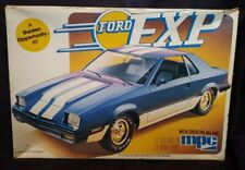 MPC 1982 Ford Exp Golden Opportunity Model Car Kit No Painting Involved! Open