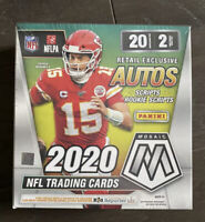 2020 Panini Mosaic Football  Mega Box Exclusive Autos Free Ship🔥 Factory sealed