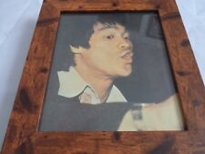 Bruce lee scrapbook rare photos Framed 10by8 mounted wood frame classic scenes 3