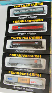 5 Various pieces of Graham Farish freight /coaching rollingstock #3