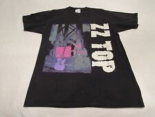 Mens Vintage Zz Top Antenna Concert Tour T-Shirt Size Large Good Shape