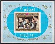 Yemen KGr 1969 ** bl.167 B espacio Space Apollo
