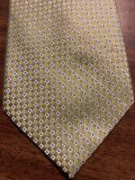 B4 Nautica Mens Tie Lt Green Foulard 100% Silk