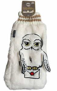 Harry Potter Hedwig Owl Slipper Boot Socks With Grippers UK 6-8 Primark Fluffy