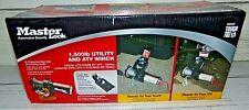 New Master Lock 12V DC Electric ATV Sport Winch 1500lbs #2955AT