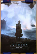 CHRISTOPHER NOLAN Signed 27x40 DUNKIRK Double Sided Advance Full Movie Poster