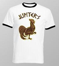 JUPITERS Cock Spartacus Sparta 300 funny printed ringer printed t-shirt 9814