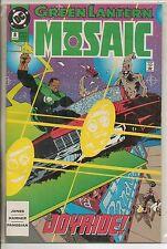 DC Comics Green Lantern Mosaic #8 January 1993 VF+