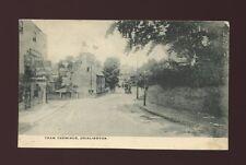 Gloucestershire Glos BRISLINGTON Tram Terminus 1904 PPC cut down