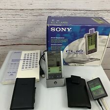 Sony Clie Peg-S300 Handheld Palm Os Complete With Charging Dock 8Mb Memory Stick