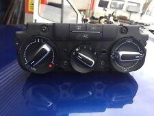 2013 vw beetle heater control panel