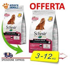 Schesir Dry MEDIUM Adult Mantenimento con PROSCIUTTO  3 / 10 kg - per Cani