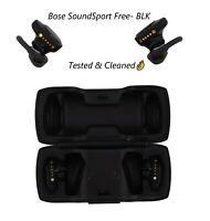 Bose SoundSport Free Wireless In-Ear Headphones Black Used Good🔥