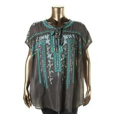 2f8554b40cb Johnny Was Plus Size Tops & Blouses for Womens for sale   eBay
