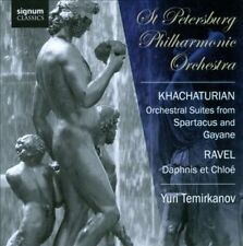Khachaturian: Orchestral Suites from Spartacus & Gayaneh; Ravel: Daphnis