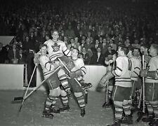 BILL BARILKO 8X10 PHOTO TORONTO MAPLE LEAFS NHL PICTURE CELEBRATION