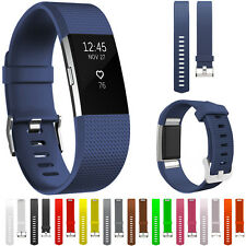 Fitbit Charge 2 Strap Band Wristband Watch Replacement Bracelet Accessory UK Pro