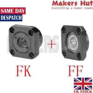 FF FK Ballscrew End Supports Bearing Mounts Blocks CNC - 10mm 12mm 15mm