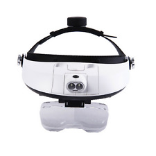 1.0X 1.5X 2.0X 2.5X 3.5X 2 LED Dental Surgical Loupe Adjustable Magnifying Glass