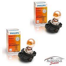 Philips Blinkerlampen PY24W SV SilverVision 12274SV 12V 24W PU20/4 Silber 2 Stk.