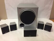 Sony 5.1 Home Theater Surround 6 Speakers Subwoofer SS-WMSP67 SS-MSP67 6 ohm