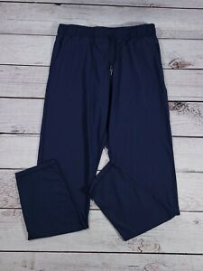 Zyia Active Navy Everywhere Stright leg Pants Size Med Blue R1