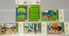 GUINEA 1980 865-70 789-94 Intl. Year of the Child IYC Kinderzeichnungen MNH