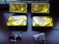 Peugeot 205 GTI driving lights lamps NEW yellow lense & yellow glass x2 pairs #1