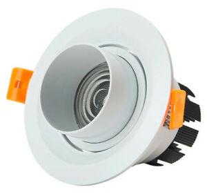 10 x 3W LED COB Spotlight Recessed Downlight Zoom Adjustable Lamp