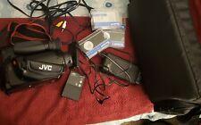 Jvc Gr-Ax300U Digital Camcorder Kit Charger Manual 2 Tapes and Bag