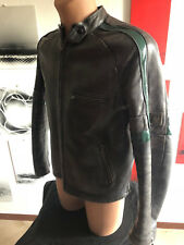 BELSTAFF WAR OF THE WORLDS HERO XL TOM CRUISE BISON LEATHER JACKET  rare GOLD
