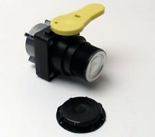 """2"""" Polypropylene IBC Ball Valve, with 2"""" Male NPT Outlet for Mauser IBCS"""