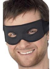 Maschere nero Smiffys per carnevale e teatro