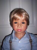 "Monika Levenig Doll by Masterpiece Dolls Boy Doll Hansel 48"" Vinyl"