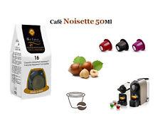48 CAPSULES DE CAFÉ  NOISETTE COMPATIBLES NESPRESSO