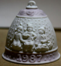 Lladro 1987 Annual Christmas Bell Holiday Decoration