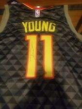 aab033d22 TRAE YOUNG signed autographed ATLANTA HAWKS Jersey ROY