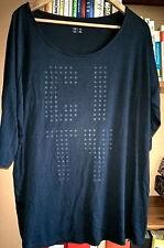 Shirt, Dunckelblau, Neu, Gr.44/46, Jersey