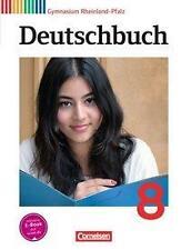 Deutschbuch Gymnasium - Rheinland-Pfalz: 8. Schuljahr - Schülerbuch