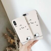 Cute Sheep TPU Soft Shockproof Phone Case Cover Skin For iPhone X XS 6S 7 8 plus
