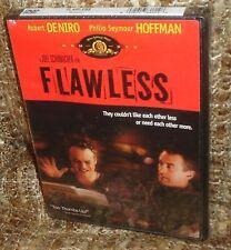FLAWLESS DVD, NEW & SEALED, RARE, ROBERT DENIRO AND PHILIP SEYMOUR HOFFMAN