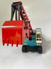 Altes Spielzeug *** KIBRI Sandkasten-Bagger mit Funktion *** schöner Zustand