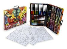 125 Pieces Incredibles 2 Inspiration Art Craft Color Pencils Kids Drawing Paint