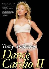 THE TRACY ANDERSON METHOD DANCE CARDIO II Vol 2 DVD NEW SEALED DANCING EXERCISE