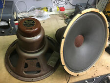 pair 1947 Jensen 15 inch Type H coaxial drivers Tannoy Black HNP-50 curvilinear