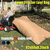 Lawn Tractor Leaf Bag Riding Mower Grass Sweeper Rubbish Storage Bag Outdoor