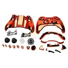 Orange New Full Housing Case Shell Button Kit Fo Xbox 360 Wireless Controller CA